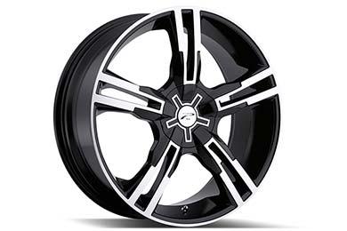 Volkswagen Eos Platinum 291-292 Saber Wheels