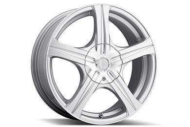 Honda Civic Platinum 403 Slalom Wheels