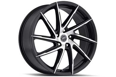 Volkswagen Eos Platinum 433 Hawk Wheels