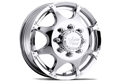 Chevy Silverado Vision 715 Crazy Eightz Duallie Wheels