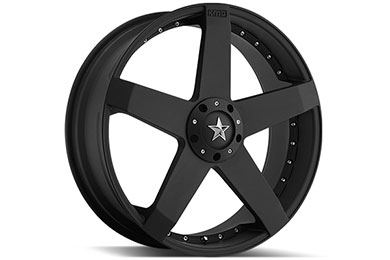 Volkswagen Eos KMC KM775 Rockstar Wheels