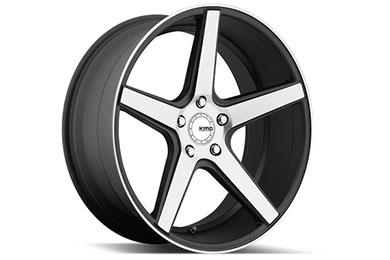 Volkswagen Eos KMC KM685 District Wheels