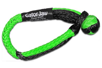 Jeep Wrangler Bubba Rope Gator-Jaw Synthetic Shackle