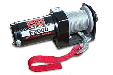 Ford Expedition Engo E2000 Winch