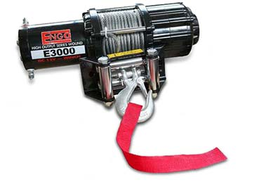 Ford F-250 Engo E3000 Winch