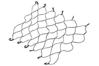 Dodge Dakota Erickson Truck Bed Cargo Net