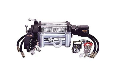Jeep Cherokee Mile Marker Winch - HI12000 Hydraulic Winch