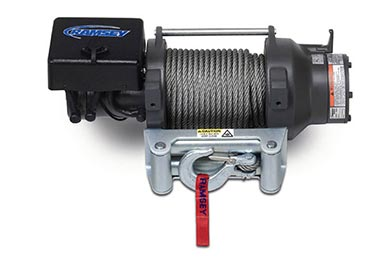 Ford F-450/550 Ramsey Winch - Ramsey Patriot 15000