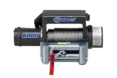 Toyota Tacoma Ramsey Winch - Ramsey Patriot 6000