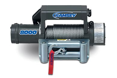 Ford Ranger Ramsey Winch - Ramsey Patriot 8000