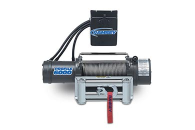 Nissan Xterra Ramsey Winch - Ramsey Patriot Profile 6000