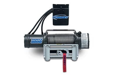 Toyota Tacoma Ramsey Winch - Ramsey Patriot Profile 8000