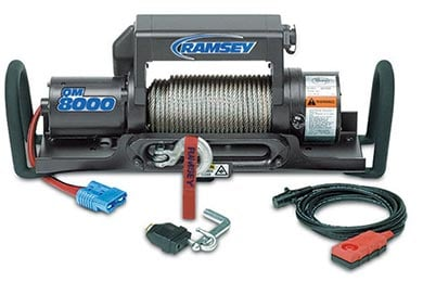 Ford F-150 Ramsey Winch - Ramsey QM 8000