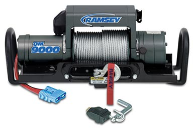 Ford Expedition Ramsey Winch - Ramsey QM 9000