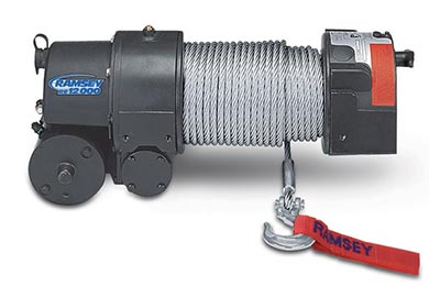 Chevy Tahoe Ramsey Winch - Ramsey RE 12000
