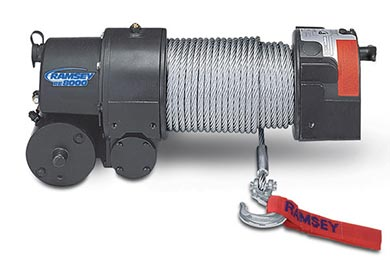 Toyota Tacoma Ramsey Winch - Ramsey RE 8000