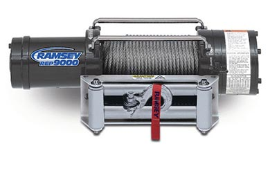 Jeep Wrangler Ramsey Winch - Ramsey REP 9000