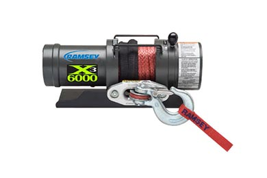 Isuzu I-Series Ramsey Winch - Ramsey Triple X 6000