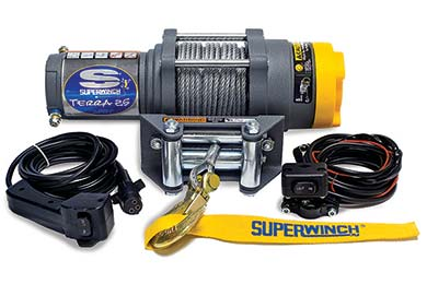 GMC Canyon Superwinch Terra 25 Winch