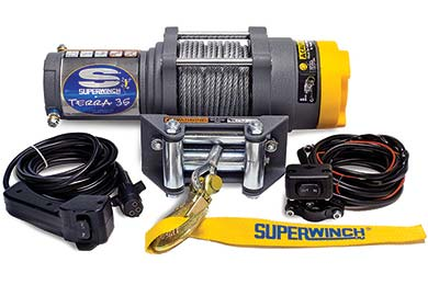 GMC Canyon Superwinch Terra 35 Winch