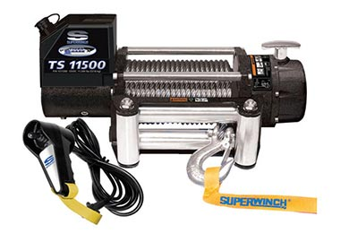 GMC S15 Pickup Superwinch Tiger Shark 11500