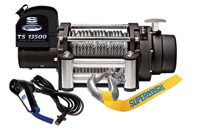 Ford F-450/550 Superwinch Tiger Shark 13500