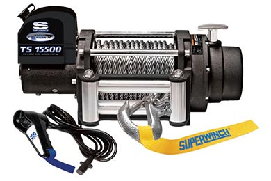 GMC Canyon Superwinch Tiger Shark 15500