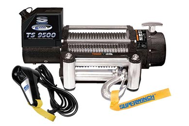 Ford F-250 Superwinch Tiger Shark 9500