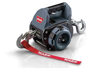 Ford F-250 Warn Drill-Powered Portable Winch