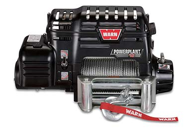 Chevy Tahoe Warn PowerPlant 12 Winch