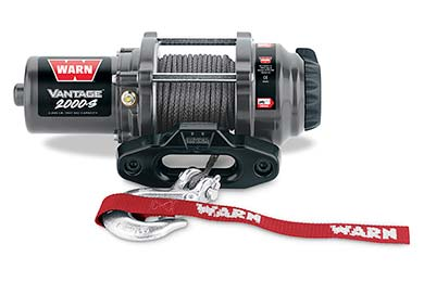 Ford F-250 Warn Vantage 2000 Winch