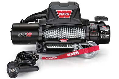 Ford F-250 Warn Winch - VR10000