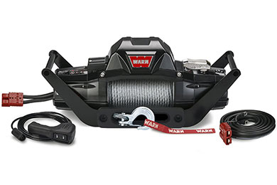Ford F-450/550 Warn ZEON 10 Multi-Mount Portable Winch