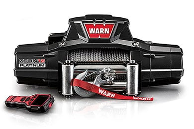 Chevy Tahoe Warn ZEON 12 Platinum Winch
