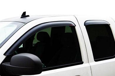 Chevy Silverado EGR Tape-On Matte Black Window Visors