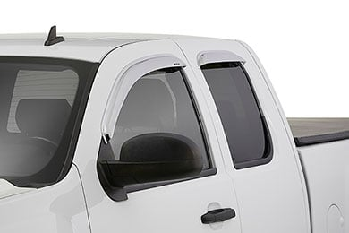 GMC Acadia Stampede TAPE-ONZ Chrome Side Window Deflectors