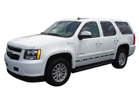 Chevy Tahoe AVS External Mount Low Profile Ventvisors