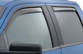Ford F-150 WeatherTech In-Channel Side Window Deflectors