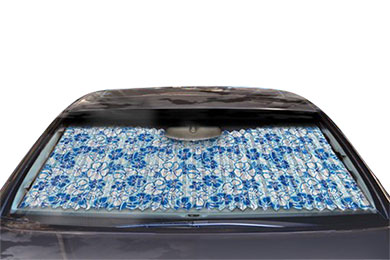 Chevy Tahoe Dash Designs Hawaiian Sun Shade