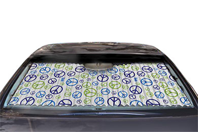 Mercedes-Benz 190 Dash Designs Peace Sun Shade