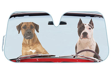 Lincoln Town Car ProZ Dynamic Dog Duo Windshield Sun Shade