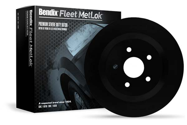 bendix fleet metlok severe duty brake rotor sample