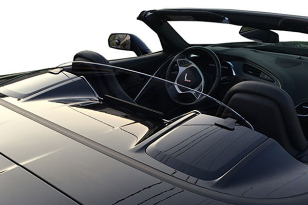 windrestrictor convertible wind deflector c7 clear related1
