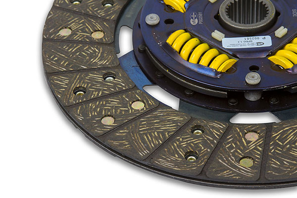 act heavy duty street clutch kits disc detail
