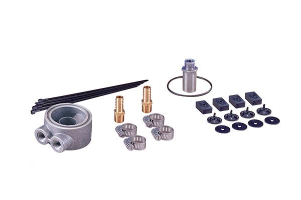 flex a lite engine oil cooler kit parts