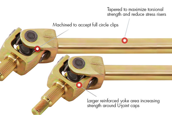 g2 placer front axles info