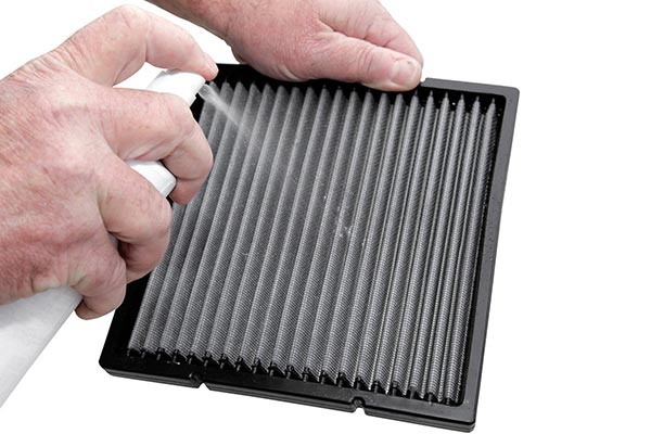Cleaning an Air Filter