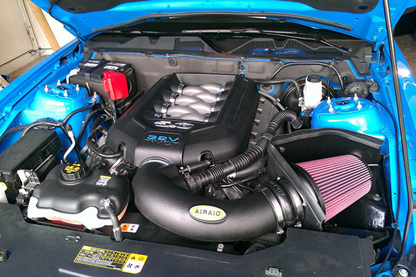 1846 airaid intake system 2011 mustang gt