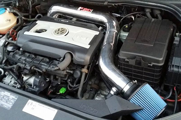 2576 injen sp performance cold air intake vw cc