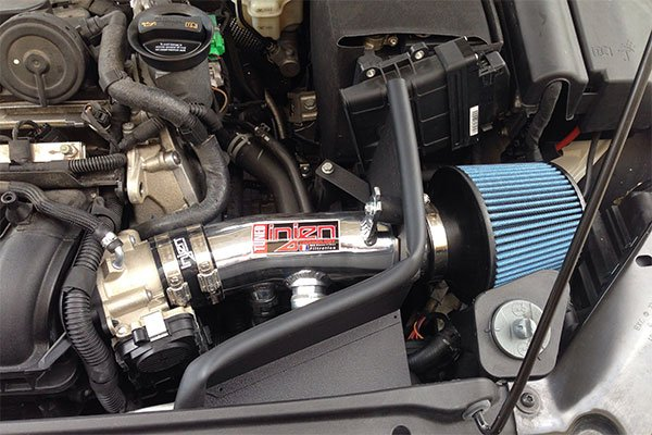 injen sp series cold air intake installed on 2011 VW Jetta